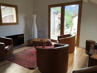 Gite de charme, au coeur des Pyrenees, avec jacuzzi et terrasse