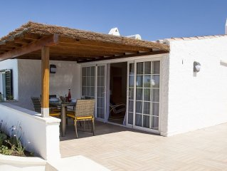 Spacious two bedroom villa within walking distance of beach and restaurants