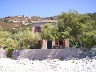 Rare, wooded property by the sea, garden of 1000m2, direct beach access.