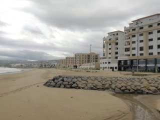 App. Exceptional 220m2 on the beach + 110m2 terrace. comfort