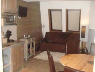 appartement  de CHARME  6 couchages Max. au cap neige