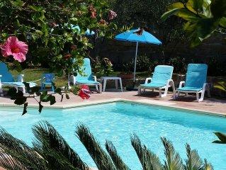 Spaziosa villa con piscina all'insegna del relax a pochi km. da Palermo