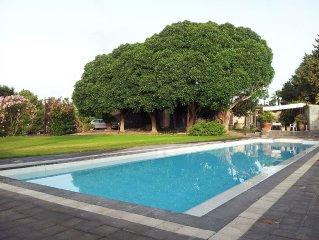 Villa di charme con piscina privata tra l'Etna e Taormina