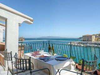 Toscana - Argentario - Porto Santo Stefano - La terrazza sul mare