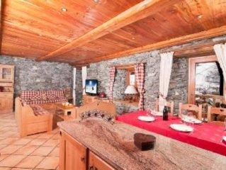 Luxury Chalet  apartment rental Tignes Val d'Isère ski in / ski out