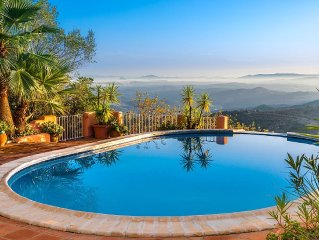 Stunning, Romantic, Private, Peaceful Villa With Breathtaking Views To Morocco