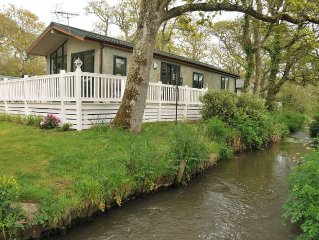 Luxury Streamside Holiday Lodge