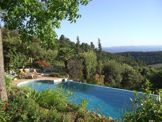 A view in Provence: Les Marjolaines, Tourtour