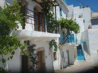 Traditional Stone Cretan Village Home In The Mountain Village Of Agios Stephanos