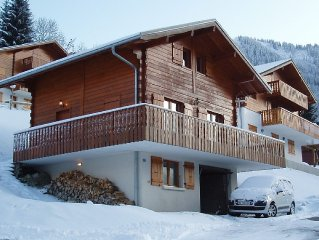 Cosy Ski Chalet Ideal for Families Or Group of Friends. Lovely in Summer Too!