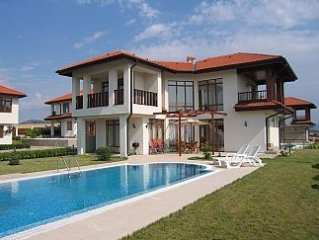 Detached Villa With Large Private Pool And Sea Views