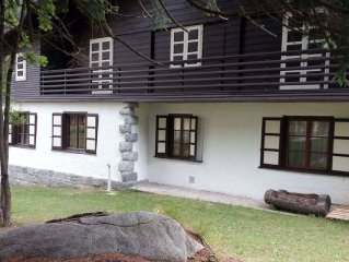 Manor house 150 meters from the slopes and center