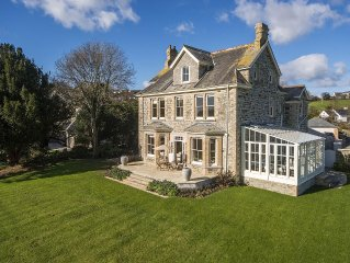The Old Vicarage, Feock, Cornwall - Newly renovated house with beautiful views