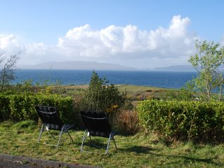 Cosy home nestled within scenic expanse of Clew Bay and Croagh Patrick