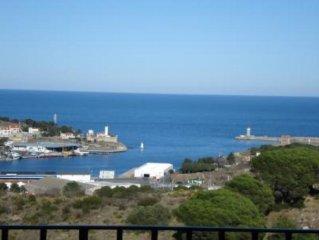 Grande maison, tres calme, avec vue sur mer