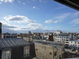 Paris Montmartre: Nice studio Rue Damremont View