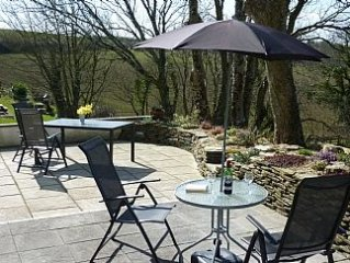 Well Presented Holiday Lodge For Five Near Bude With Stunning Views To The Se
