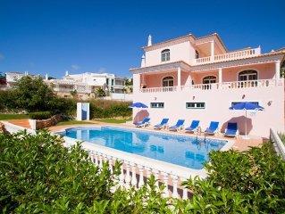 Beautiful Villa  with sea views - short drive to fantastic beach WIFI & AIR COND