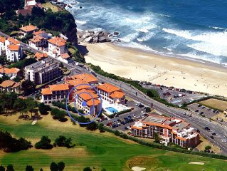 Anglet/Biarritz 2-star apartment - Ocean View and terrace over the golf