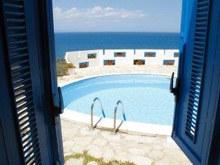 Villa Giuditta sul mare, piscina privata, panorama mozzafiato sull'Etna