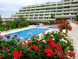 One Bedroom Apartment With Terrace, Large Outdoor Pool And Sea Views