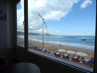 Apartamento de Lujo en Primera Linea de La Playa de Las Canteras.