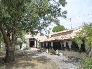 Grande maison de charme avec piscine dans le lot et Garonne