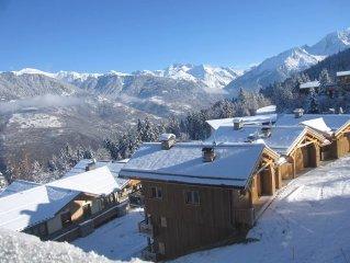 Courchevel / La Tania - Beau 3 pièces pour 7 personnes, Ski aux pieds des pistes