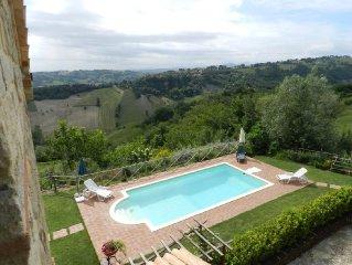 Casa Coppari a beautiful farmhouse with mountain