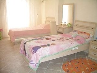 Two further large twin bedrooms