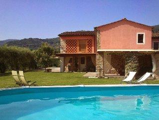 Dimora di Bucchia, villa rustica indip. piscina  Tuscany quiet zone/near city