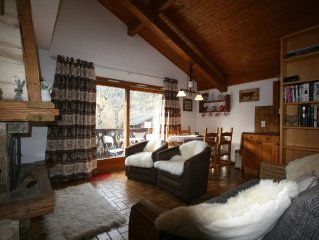 Comfy, Cosy Alpine Style Apartment, With Fireplace And Fantastic Views