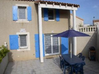 Mediterranean style 2 bedroom villa with large terrace and modern kitchen.