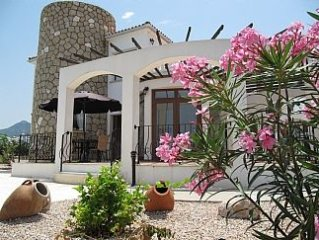 Luxury Villa - Sea Front Location - Mediterranean Sea  and Mountain Views