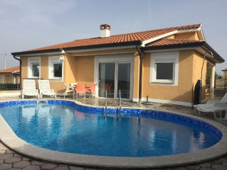 Villa with private pool & Incredible views 6km from Porec