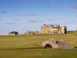 Swilken View, 5 Star Selfcatering House Overlooking the Old Course in St Andrews