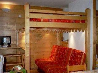 GRAND STUDIO avec cabine et mezzanine - Au pied des pistes