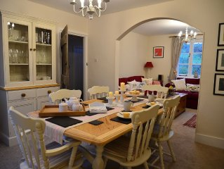 Stunning, Beautifully Presented, Dog-Friendly Cottage on the Very Edge of Exmoor