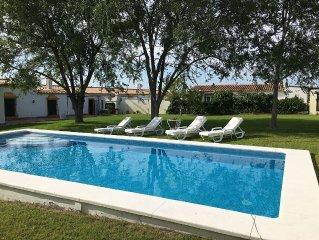 Casa rural cerca de Sevilla, ideal para descanso y actividades al aire libre