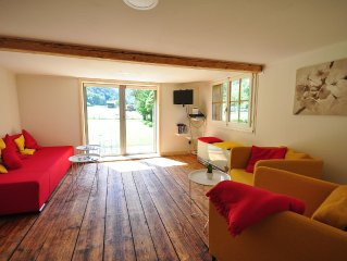 Private chalet.  Amazing views.  Enclosed garden,