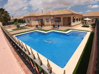Close to Mar Menor with Private Pool on Private Estate