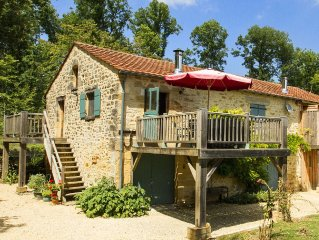 Traditional Gite with Large Pool and Sun Terrace. Set in 16 acres.