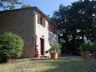 House in Val d'Orcia great for families