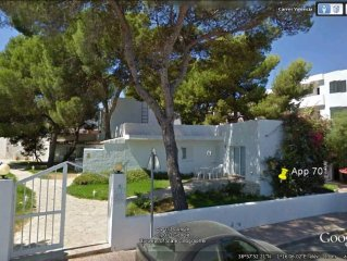 Port Des Torrent-Appartement 2 chambres 150m de la plage ,jardin privatif.