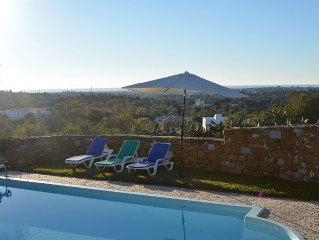 Beautiful villa sleeps 8. Private pool & stunning panoramic ocean views