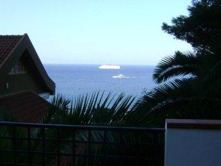 Esclusivo appartamento con giardino con vista sul golfo dell'Addaura/Mondello