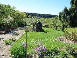 Gïte de charme 8 pers, vue et  jardin d'exception au cœur du Morvan, Bourgogne