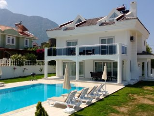 Beautiful 4 Bedroom Villa, With Private Pool and Garden and Mountain Views.