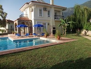 Beautiful Villa In Ovacik With Private Pool And Mountain Views