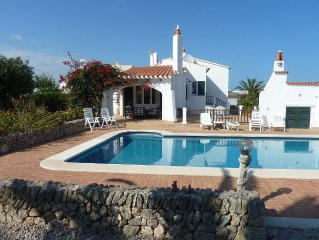 Villa For Rent In Menorca With Private Pool And Enclosed Garden